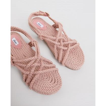 Kalani Sandals Blush by Dazie