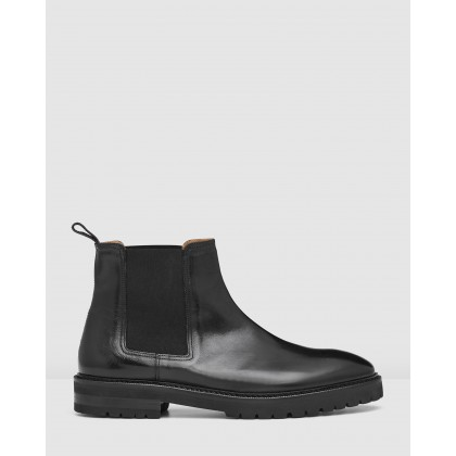 Kean Chelsea Boots Black by Aquila