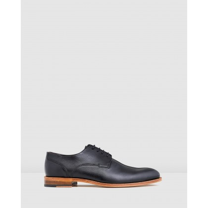 Kennard Lace Ups Black by Aquila