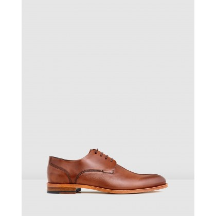 Kennard Lace Ups Tan by Aquila