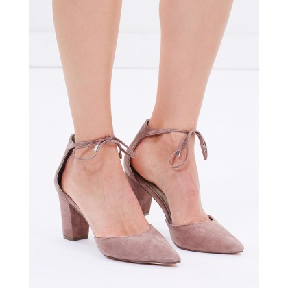 Kennedy Blush Suede by Nude