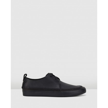 Kessell Craft Black Leather by Clarks