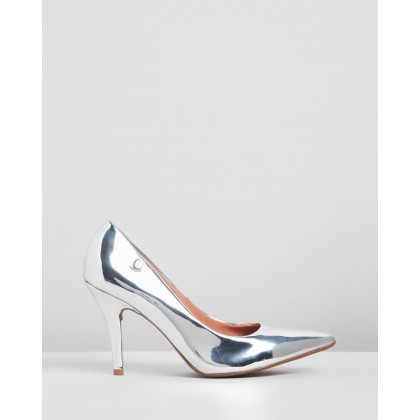 Keva Pumps Silver by Vizzano