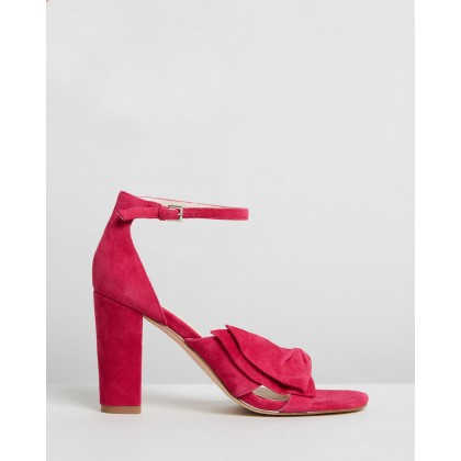 Kiki Hot Pink Suede by Nude