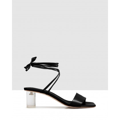 Kim Sandals Black by Beau Coops