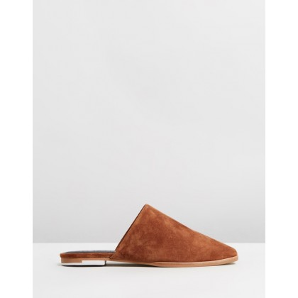 Kim Sildes Burnt Tan Suede by Sol Sana