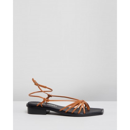 Kimmy Sandals Tan by Sol Sana