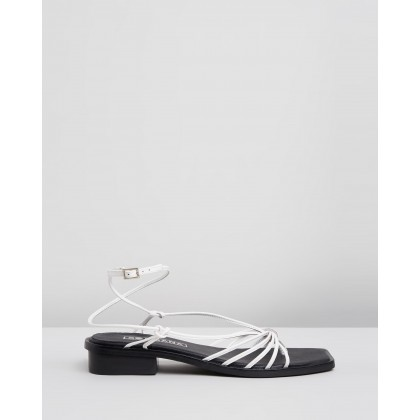 Kimmy Sandals White by Sol Sana