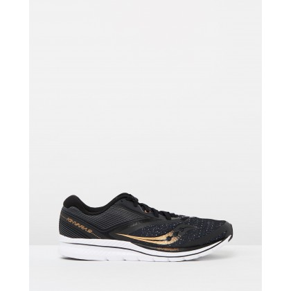 Kinvara 9 - Men's Black, Denim & Copper by Saucony