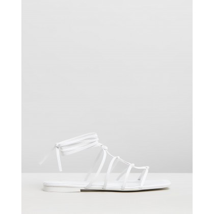 Kiny Sandal White by M.N.G