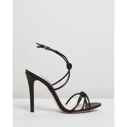 Knot Heels Black by Schutz
