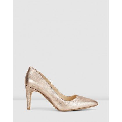 Laina Rae Rose Gold Leather by Clarks