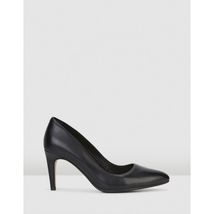 Laina Rae Black Leather by Clarks