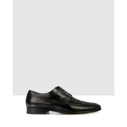 Lando Lace Ups Black by Brando