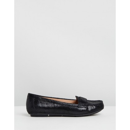 Larrun Loafers Black by Vionic