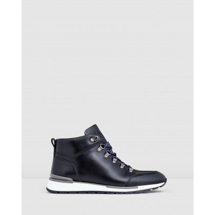 Lawford Boots Black by Aquila