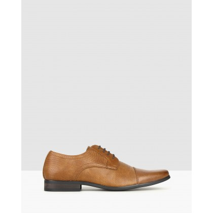 Lazer Derby Dress Shoes Tan by Betts