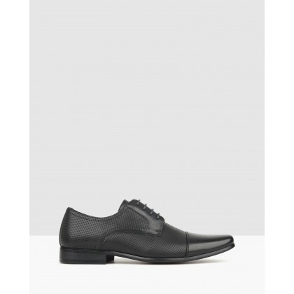 Lazer Derby Dress Shoes Black by Betts