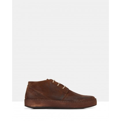 Lebron Ankle Boots Brown by Brando