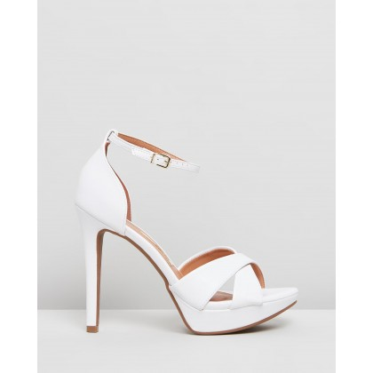 Leena Heels White by Vizzano