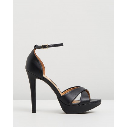 Lena Heels Black by Vizzano