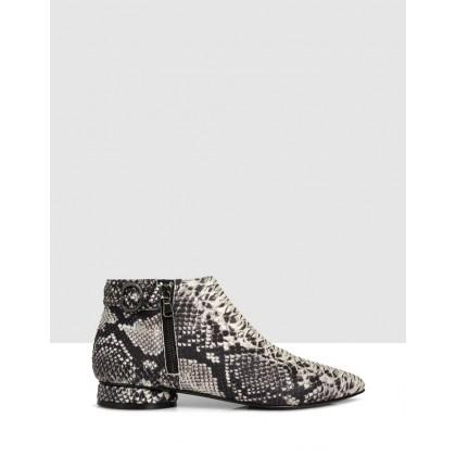 Leora Ankle Boots Beige/Roccia by S By Sempre Di