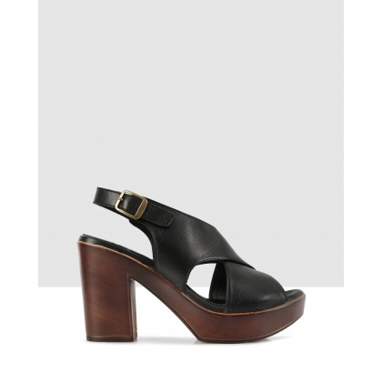 Letizia Sandals Black by S By Sempre Di