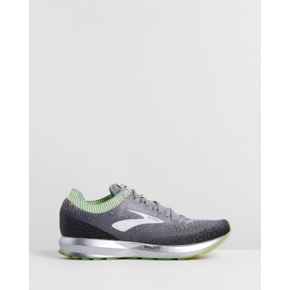 Levitate 2 - Men's Grey, Nightlife & Black by Brooks