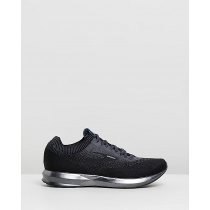 Levitate 2 - Men's Black, Ebony & Black by Brooks