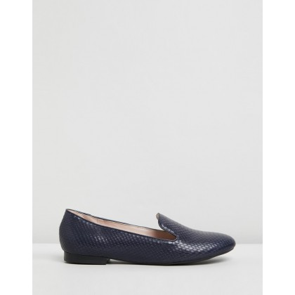 Lex Dark Blue Leather by Nine West