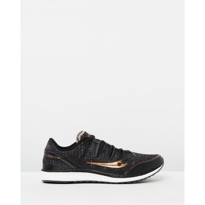 Liberty ISO - Men's Black, Denim & Copper by Saucony