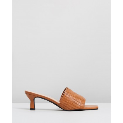 Lidia Mules Tan by Sol Sana