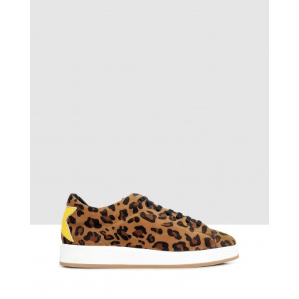 Liliana Sneakers Leopard-Yellow by S By Sempre Di