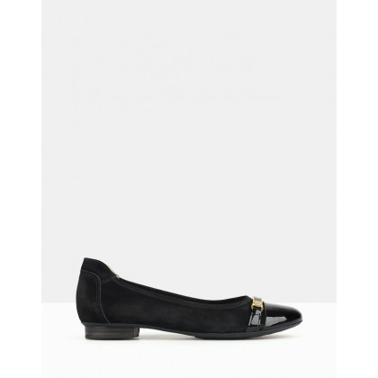 Lima Ballet Flats Black by Airflex