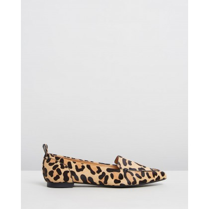 Linette Loafers Leopard by Jo Mercer