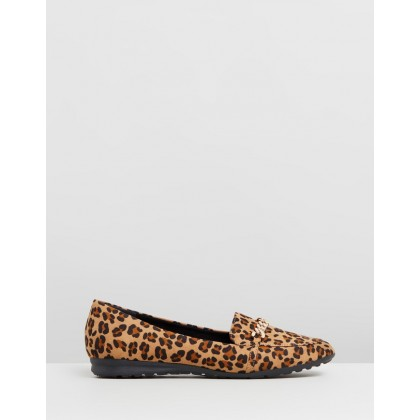 Link Chain Loafers Leopard by Dorothy Perkins