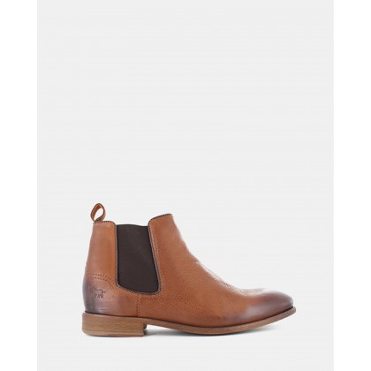 Lloyd Chelsea Boots Tan Leather by Wild Rhino
