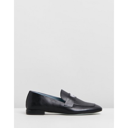 Logomania Loafers Black by Chiara Ferragni