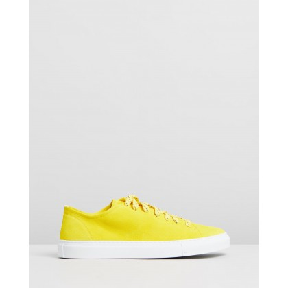 Loria Low Yellow Suede by Diemme
