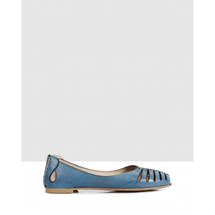 Lotus Flats Blue by S By Sempre Di