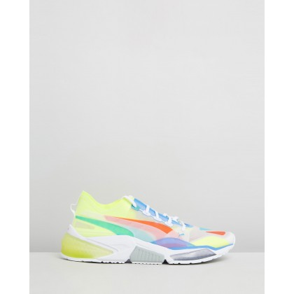 LQDCELL Optic Sheer Sneakers Puma White by Puma