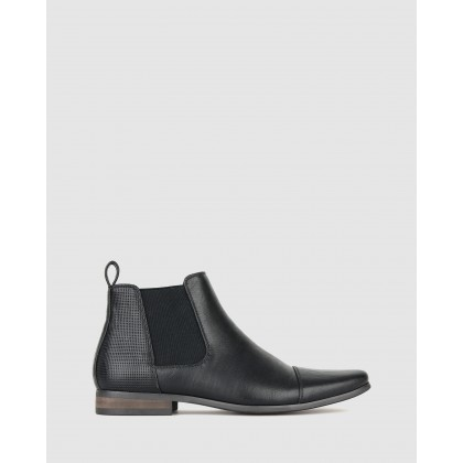Lucas Chelsea Boots Black by Betts