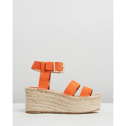 Lucia Orange by Alohas Sandals