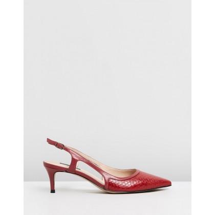 Luciana Red & Snakeskin by Nina Armando