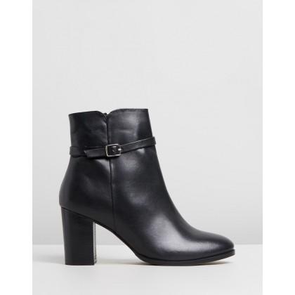 Lulu Black Leather by Human Premium