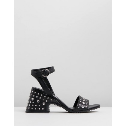 Lydia Sandals Black by Mcq By Alexander Mcqueen