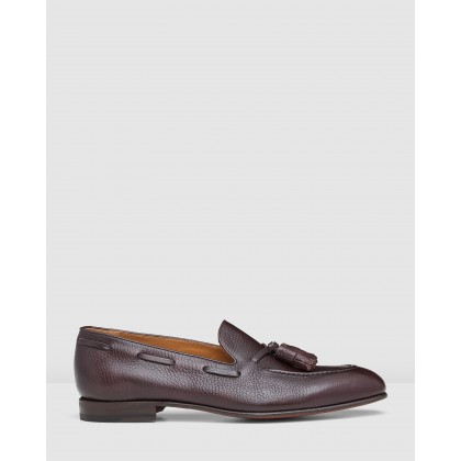 Lyons Tassel Loafers Bordo by Aquila