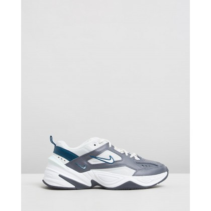 M2K Tekno - Women's Dark Grey, Spruce Aura & Midnight Turquoise by Nike