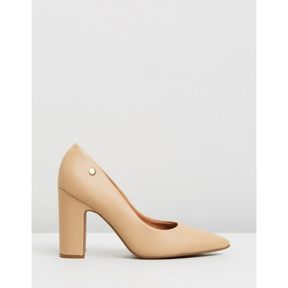Mabel Pumps Beige by Vizzano