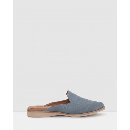 Madison Mule Shoes Denim by Rollie